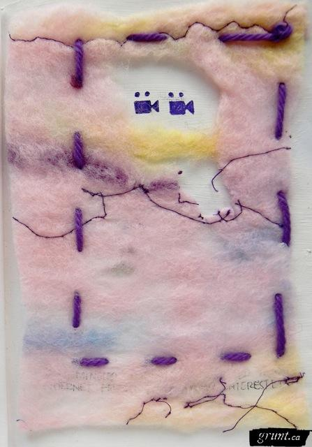 Felted Memories: intertwined, entangled, meshed and recorded